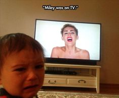 40 Reasons Why Kids Cry - Miley Cyrus