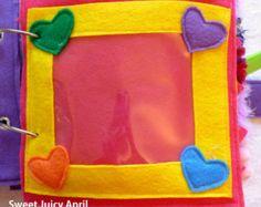 Fibbia di pagina libro tranquillo di SweetJuicyApril su Etsy