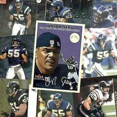 Burbank Miami Dolphins Junior Seau 20 Trading Card Set by Burbank Sportscards. $14.95. Box has square corners, perfect for stackingCards will span the player's career. 20 regular-issue trading cards - No doubles. Favorite brands like Topps?, Upper Deck?, Fleer? and more. Plastic 20-count card box. Have you opened countless packs of cards without ever coming across any of your favorite player? With this 20 Card Set, you will get 20 regular-issue trading cards o...