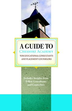 Cheshire Academy Consultant Brochure. [Turnaround Marketing Communications]