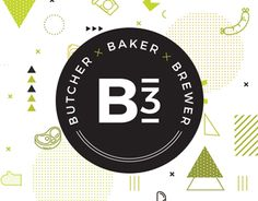 "Check out new work on my @Behance portfolio: ""B3 | Butcher × Baker × Brewer"" http://be.net/gallery/47507279/B3-Butcher-Baker-Brewer"