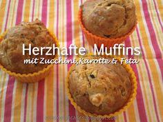 SchokoCupcakes: Herzhafte Muffins
