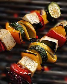 Barbecued Fish Kebabs Healthy Recipe | HEALTHY RECIPES