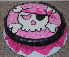 Girl Pirate theme — Children's Birthday Cakes