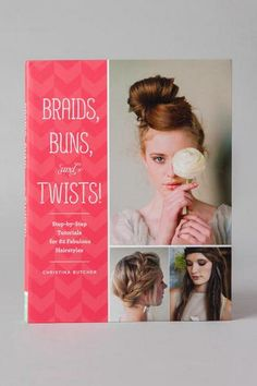 From the back cover:<br />  <br />  Top Knots, heidi braids, french twists, oh my!<br />  <br />  Chic hair is all the rage from runways to blogs to city streets. This book presents 82 classic and contemporary styles and provides step-by-step tutorials for each one. You'll love mixing up the looks for parties, the office, a casual beach day, or an elegant night out. Simple how-to illustrations take the guesswork out of styling, while glossy fashion photographs demonstrate how to tailor and…