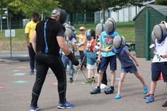 """Fencing?"" I hear you say! Yes, that's right, we offer fencing at our day camps!"