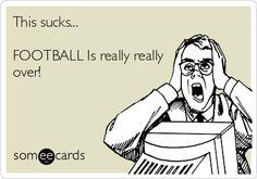 This sucks… Football…