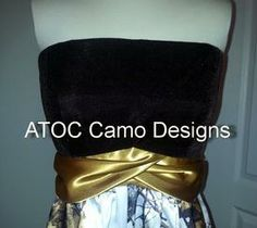 The Big Red Neck Trading Post - ATOC-AE-29: Velvet-Strapless Empire Waist Camo Dress, $210.00 (http://www.thebigrednecktradingpost.com/products/atoc-ae-29-velvet-strapless-empire-waist-camo-dress.html)