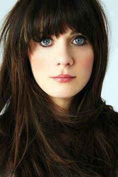 Deep blue eyes - Zooey Deschanel