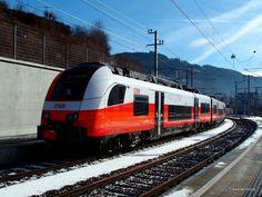 ÖBB BR 4746 'Cityjet' in Bruck an der Mur, Austria
