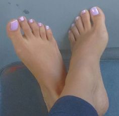 One of my favorite colors - K Stevens Purple Toe Nails, Purple Toes, Pretty Toe Nails, Toe Nail Color, Pretty Toes, Toe Nail Art, Painted Toes, Soft Feet, Beautiful Toes