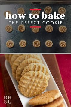 Never Overbake a Cookie Again with These Pro Tips Brownie Cookies, Oatmeal Cookies, No Bake Cookies, Cookie Bars, Sugar Cookies, Cake Recipes For Beginners, Baking Basics, Peanut Butter Cookies, Holiday Baking