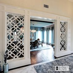 Home Room Design, Home Interior Design, Living Room Designs, Living Room Decor, Living Room Partition Design, Room Partition Designs, Room Divider Doors, Luxury Homes Interior, Küchen Design