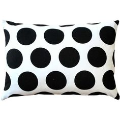 Pillow Decor Dots and Stripes Throw Pillow 12x18 (332.770 IDR) ❤ liked on Polyvore featuring home, home decor, throw pillows, pillows, decor, fillers, pillow decor, striped accent pillows, striped throw pillows and polka dot home decor