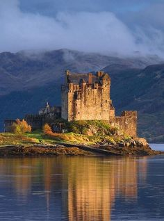 The lovely Duart Castle in Isle of Mull, Scotland.