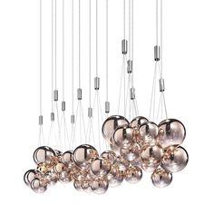 Random Suspension Light by Studio Italia Design. Get it at LightForm.ca