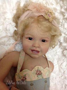 LilyBug Art Dolls Prototype Tiffany-Susan Lippl Sculpt