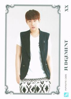 [Pic] 131011 INFINITE – Official Collection Card Vol. 1 Scans | Infinite CHING-GYU