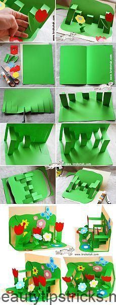 33 Ideas For Garden Crafts Ideas Articles Projects For Kids, Diy For Kids, Craft Projects, Crafts For Kids, Summer Crafts, Diy And Crafts, Paper Crafts, Art N Craft, Mothers Day Crafts