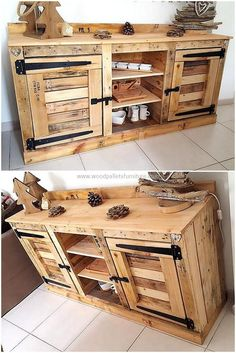 Fun Pallet Projects To Create Awesome Creations Recycled wood pallet furniture has become popular these days because of its multi-functional utility. At the same time we get a function from our craft while… Wood Pallet Furniture, Furniture Projects, Rustic Furniture, Diy Furniture, Furniture Repair, Furniture Movers, Furniture Removal, Refurbished Furniture, Furniture Online