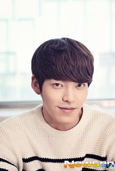To All Kim Woo Bin Lovers: Here's A Bomb Of Interview Pics With His Stuffy Friend   Couch Kimchi