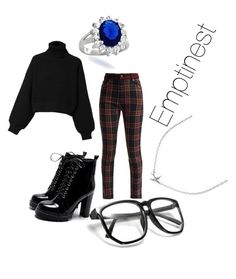 """""""Emptinest"""" by racheldenisnefeke on Polyvore featuring French Connection, Diesel, Bling Jewelry and Minnie Grace"""