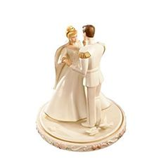 Amazon.com: Lenox Cinderella's Wedding Day Cake Topper: Collectible Figurines: Kitchen & Dining