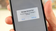 Here's what to delete when your smartphone runs out of storage -- and where to keep it all!