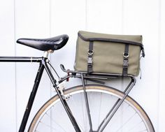 Bicycle Trunk Bag by Ironweed by Ironweed Bicycle Products | NYMB.co