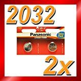 CR2032 Battery (2 pack) - Panasonic, Lithium Coin Cell, 3V by Panasonic  (3240)Buy new:   £1.05 46 used & new from £0.11(Visit the Bestsellers in Electronics list for authoritative information on this product's current rank.) Amazon.co.uk: Bestsellers in Electronics...
