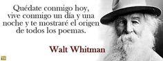 Walt Whitman ( Nueva York, 31 de mayo de 1819 – Nueva Jersey, 26 de marzo de 1892