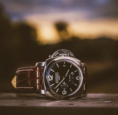 • Panerai Luminor \\\ I really want this watch so badly! • This is my ultimate favorite!! Subtle, beautiful, quality , class, gents watch! • #Panerai #Class #Gentlemantoy