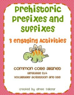 Prefix and Suffix Activities School Days, School Stuff, Prefixes And Suffixes, Reading Intervention, Teaching Tips, Language Arts, Fun Activities, Grammar, Curriculum