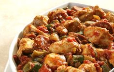 Quick & Easy Chicken Gumbo Recipe - 4 Points | weight watchers