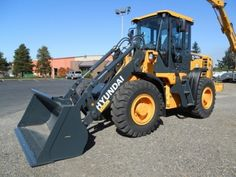 Hydundai Wheel Loaders    http://www.rockanddirt.com/equipment-for-sale/HYUNDAI/wheel-loaders