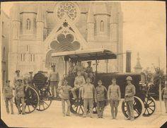 Karozza tal-istim iġġor searchlight fil-Furjana c.1910   Flickr - Photo Sharing!