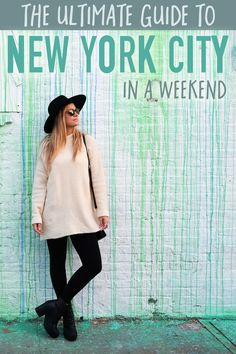 Guide to New York City in a Weekend