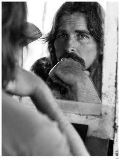 Christian Bale / Photographed by Mikael Jansson / For WSJ Magazine December 2014 Christian Bale, Chris Bale, Wsj Magazine, The Fashionisto, Fashion Tape, Its A Mans World, Celebrity Portraits, No Photoshop, Hemsworth
