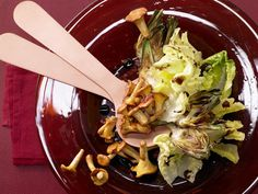 Pfifferlingssalat mit Artischocken - und Walnussöl - smarter - Kalorien: 212…