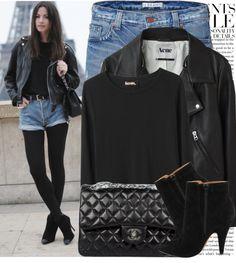 """Blogger Style: Fashion Vibe"" by marina-castro ❤ liked on Polyvore"