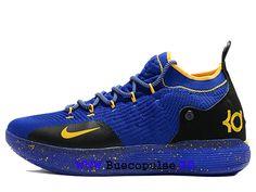 lowest price 0683e a3e7f Kevin Durant Nouveau Nike KD 11 EP Chaussures de basket Pas Cher Pour Homme  Bleu noir