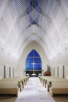St. Voile Chapel / Kasahara Design Work, Japan