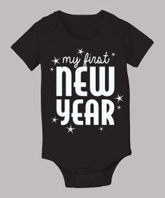 'My First New Year' Baby Onesie.