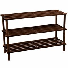 Home Discount offers this stunning new product with a modern stylish design, the 3 Tier Slated Shoe Rack, Dark Oak. This expertly crafted three tier shoe rack has an excellent slated design and is a perfect solution for you Shoe Storage Cabinet, Bench With Shoe Storage, Wood Storage, Storage Ideas, Shoe Storage Accessories, Stackable Shoe Rack, Wooden Shoe Racks, Shoes Stand, Scrap Material