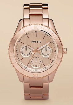 Women's Fossil watch--bought for my wife while in Atlanta Georgia (DCJ)