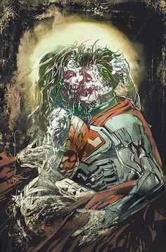 Zombie Wonder Woman & Superman - Bill Sienkiewicz