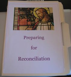 Busy with Blessings: A First Reconciliation Lapbook ~