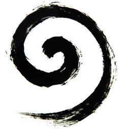 Koru ~ a spiral shape fern of New Zealand.  Symbolizing new life, growth, strength and peace.