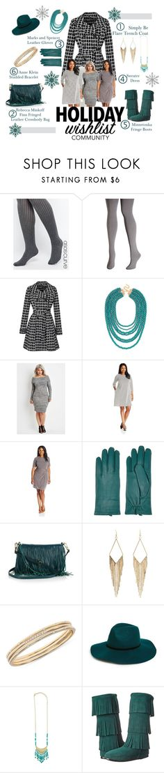 """What's On Your Wish List"" by lovelyblk ❤ liked on Polyvore featuring ASOS Curve, Avenue, BaubleBar, Forever 21, MSK, Ellen Tracy, Rebecca Minkoff, Charlotte Russe, Anne Klein and BP."