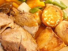 Jenny Eatwell's Rhubarb & Ginger: Slow cooker braised British Rose Veal - such a treat! British Rose, Pot Roast, Eating Well, No Cook Meals, Slow Cooker, Cooking Recipes, Treats, Ethnic Recipes, Friday
